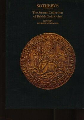 Sothebys 1994 The Strauss Collection of British Gold Coins