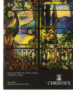 Christies 1989 Important works by Tiffany & John La Farge