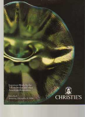 Christies 1990 Important Works by Tiffany & other US Glassmakers