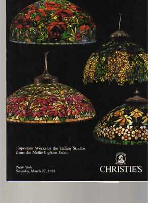 Christies 1993 Ingham CollectIon of Important  Works by Tiffany