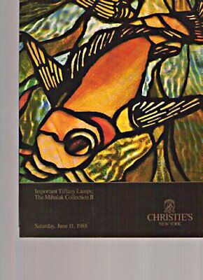 Christies 1988 Mihalak Collection II Tiffany Lamps