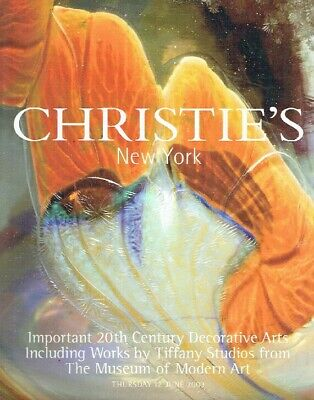 Christies June 2003 20th C Decorative Arts including Works by Tiffany Studios