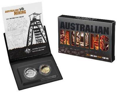 2013 Australian Two Coin Proof Set - Australian Mining