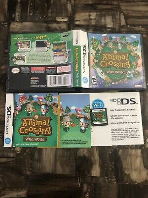 Nintendo Ds Welcome To Animal Crossing Wild World