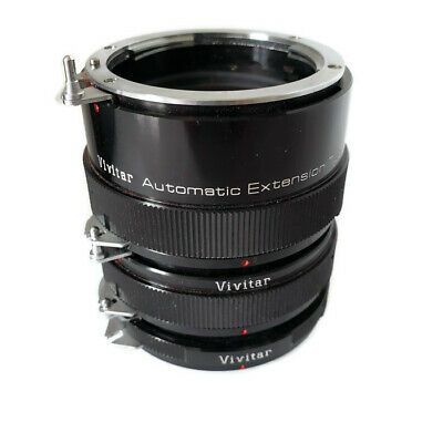 Vivitar Automatic Extension Tube AT-3 30, 20 and 12 mm