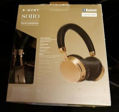 ed4a6f31b57 NEW MVMT SOHO Bluetooth Wireless Rechargeable Stereo Headphones ...