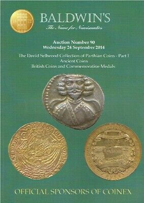 Baldwins Sep 2014 Ancient Coins & Commemorative Medals - Sellwood Collection