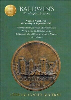Baldwins September 2015 French, World & Islamic Coins & Commemorative Medals