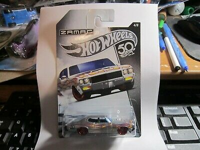 2018 Hot Wheels 50th Anniversary  Zamac #4/8 '70 BUICK GSX