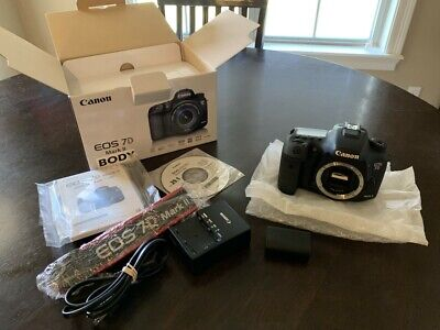 Canon EOS 7D Mark II / MK 2 Camera Body Only DSLR in Original Box Canon EOS 7D