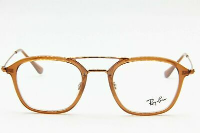 7592fe0b58394 RAY BAN FRAME RX Eyeglasses New Oval Bronze RX3547V 2888 48 21 145 ...