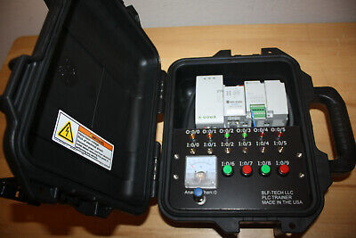 Allen Bradley Micro820 Analog PLC Trainer with PLC & HMI Software for Training