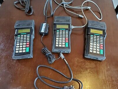 Lot Of 3 Tricoders Worth Data  Lt53 Portable Barcode Scanners