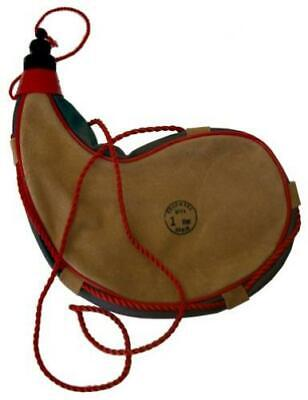 sammi Leather, Latex Lined, 1 Liter Traditional Spanish Bota Bag with...