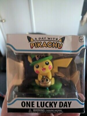 A Day with Pikachu One Lucky Day Funko Figure Pokemon Center + FREE LE FUNKO POP