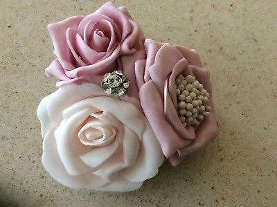 Hair flower clip bridal decoration from UK