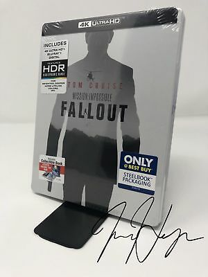 Mission: Impossible - Fallout Steelbook (4K Ultra HD + Blu-ray + Digital)
