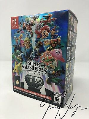 Super Smash Bros. Ultimate - Nintendo Switch Special Edition + Coin Brand New