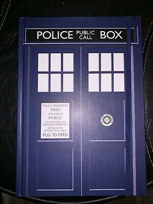 Doctor Who TARDIS Standard Notebook Brand new