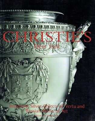 Christies April 2001 Important Silver, Objects of Vertu & Russian Works of Art