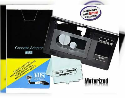 Motorized VHS-C Cassette Adapter For JVC C-P7U CP6BKU C-P6U,Panasonic...