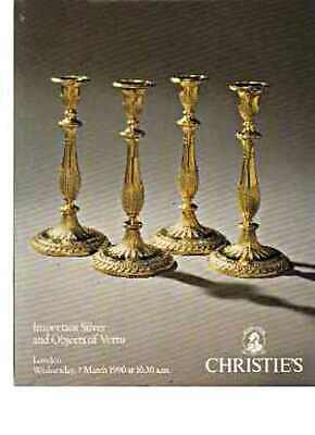 Christies 1990 Important Silver & objects of Vertu