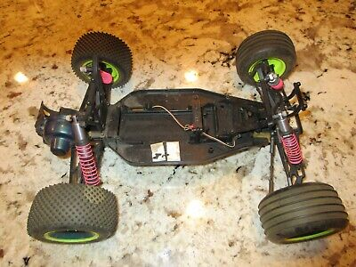 VINTAGE TEAM LOSI XXT Ti TITANIUM LUNSFORD ROD SET RC