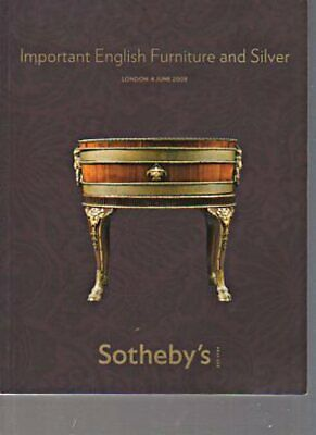 Sothebys 2008 Important English Furniture & Silver