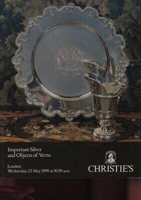 Christies 1990 Important Silver and Objects of Vertu