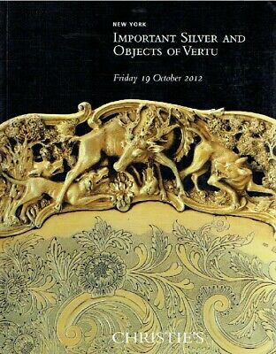 Christies October 2012 Important Silver & Objects of Vertu