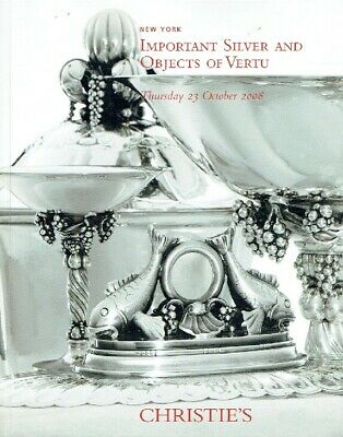 Christies October 2008 Important Silver & Objects of Vertu