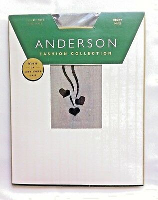 Sweethearts Side Left Ankle Anderson Fashion Collection Black Mids New In Pack