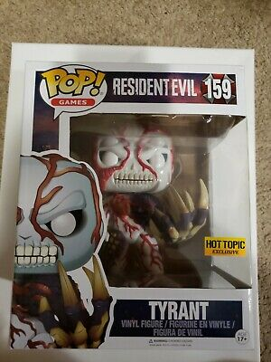 Funko POP! Tyrant #159 Hot Topic Exclusive RARE Large - Resident Evil