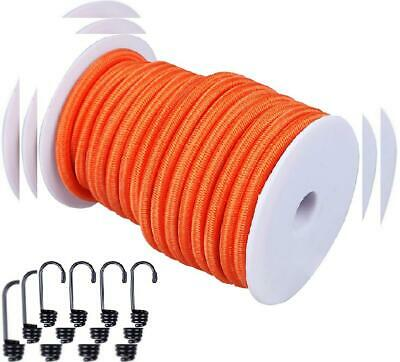 """CARTMAN 1/4"""" Elastic Cord Crafting Stretch String, 40kg x 50ft, with 4 More..."""