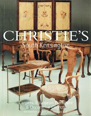 Christies May 2001 Carpets, European Furniture & Decorative Objects