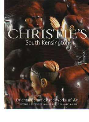 Christies 2000 Oriental Ceramics and Works of Art