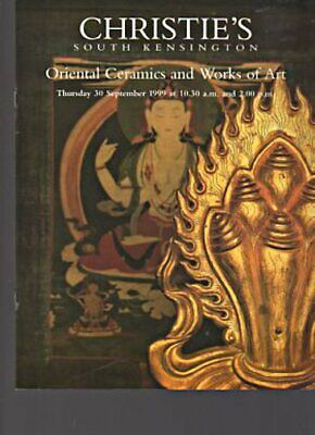 Christies 1999 Oriental Ceramics and Works of Art
