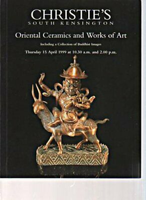 Christies April 1999 Oriental Ceramics & Works of Art, inc Coll Buddhist Images