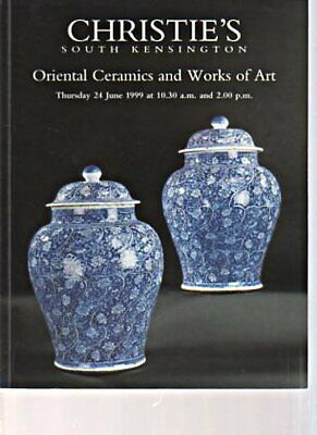 Christies June 1999 Oriental Ceramics & Works of Art
