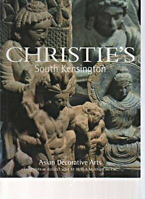 Christies 2001 Asian Decorative Arts