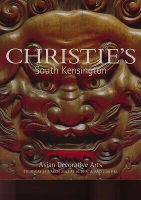 Christies March 2002 Asian Decorative Arts
