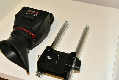 "KAMERAR QV-1 KIT LCD VIEW FINDER  w/ 8"" rails Canon Nikon Sony Panasonic Olympus"