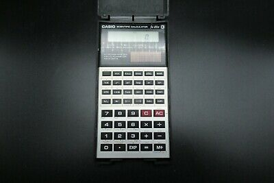 Vintage Retro CASIO FX-85N Solar Powered Scientific Calculator With Hard Case