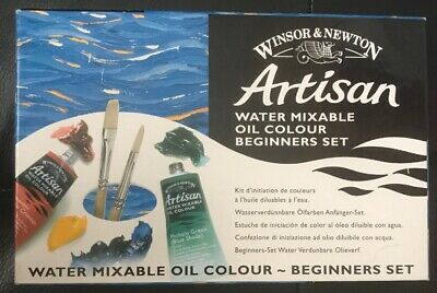 Winsor & Newton Artisan Water Mixable Oil Beginners Set - 6 x 37ml Tubes