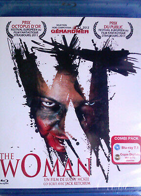 """BLU-RAY """"THE WOMAN"""" ( + Copie Digitale) Neuf Sous Blister"""