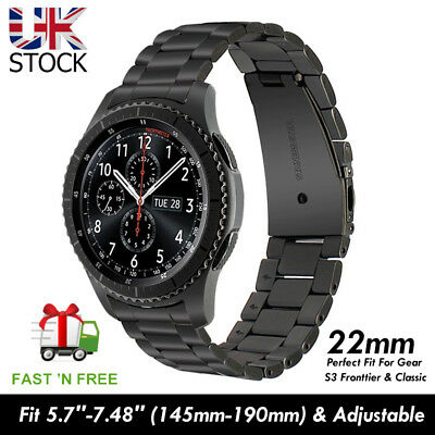 Gear S3 Metal Strap / Stainless Steel Band /Bracelet For Frontier or Classic