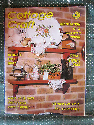 Magazine Cottage Crafts Dated 1994 Must See  *** Look ***
