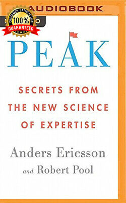 Peak: Secrets from the New Science of Expertise MP3 CD – Audiobook, Audio,...