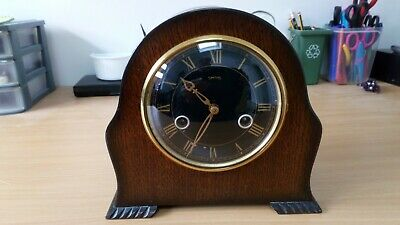 "Smiths ""ashby"" Mantle Clock Fwo"