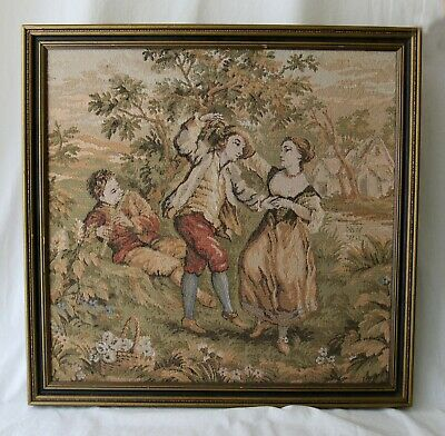 Beautiful Vintage Wall Tapestry Framed